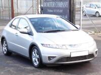 Honda Civic 2.2i-CTDi, Silver, 92 000 Miles, FSH, 1 Years Mot, 3 Months Warranty
