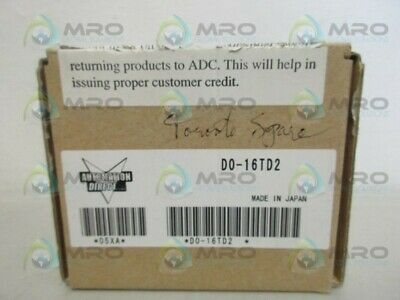 Automation Direct D0-16td2 Output Module New In Box