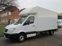 2013 13-REG Mercedes Sprinter 313CDI LWB LUTON BOX. TAIL-LIFT. 13FT 6'' GRP BODY