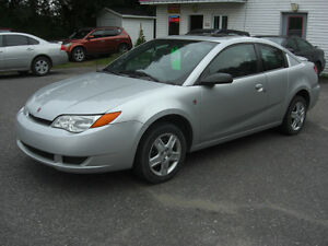 2007 Saturn ION mid-level Coupé ,VISA,MASTER