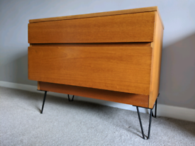Mid century Beaver and Tapley drawer unit sideboard vintage retro hair