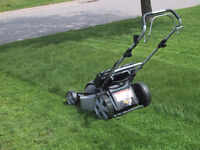 Mowing PMQ lawns and other Oromocto area lawns