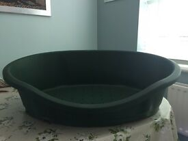 For Sale - Large Plastic Dog Bed