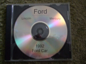 Ford Computer disc-1992 ford ranger and cars too