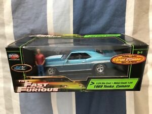 1969 Yenko Camaro 1:24 Fast & the Furious Die Cast with Figure
