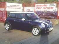 2005 05 Reg Mini Mini 1.6 Cooper 72000,HISTORY,ALLOYS,AIR CON,NEW MOT