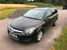 2007 Vauxhall Astra Van Sportive 1.9CDTi 120Bhp 6 Speed Manual Black **NO VAT**