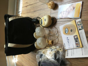Medela double electric freestyle hands free breast pump