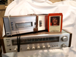 Noresco 8-track tape player and am fm stereo receiver
