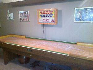 Shuffel Board Table