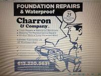 Foundation Repairs / Waterproof