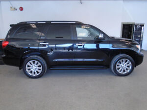 2010 TOYOTA SEQUOIA PLATINUM! 1 OWNER! NAVI! MINT! ONLY $21,900!