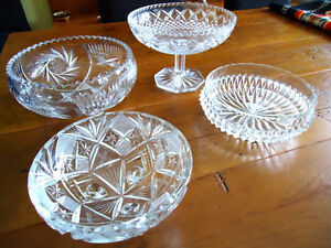 Crystal Bowls Kitchener / Waterloo Kitchener Area image 2