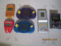 Old hand held video games