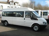 FORD TRANSIT 14 SEAT WHEELCHAIR ACCESSIBLE DISABILITY MINIBUS NO VAT