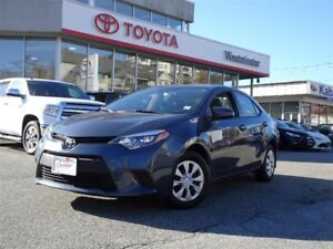 Toyota Corolla CE Air Conditioning Package 2016