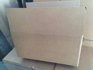 Boîtes de carton pour rangement ou déménagement