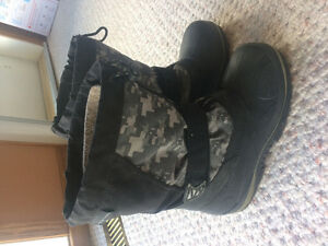 Winter boots for boys size 4