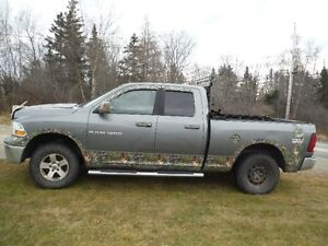 2012 Dodge Power Ram 1500 CAMO Pickup Truck