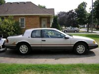 1991 Mercury Cougar Coupe (2 door)