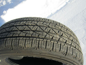 4---225/65/17 FIRESTONE  UNDER 500 KMS---$400