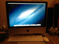 20 in and a 17 in imac
