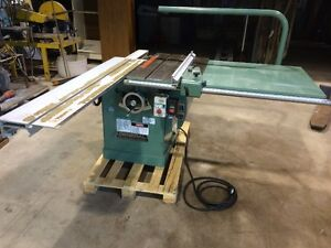 NEW PRICE 10 INCH SCORING SAW WITH SLIDING TABLE