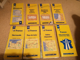 Michelin maps of France