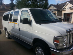 2011 Ford E350 white van