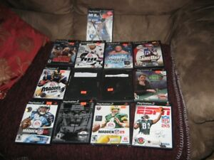 8  PS2 ;  GAMES  AND 5 PS2  GAMES