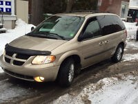 2003 Dodge Caravan Minivan 7seats runs perfect 156000km