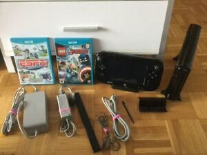 Wii U de luxe + Marvel Avengers et ESPN Sports - 240$