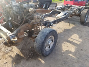 2ND GEN DODGE BC  ROLLING CHASSIS 4X4