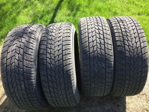 4 winter tires Toyo observe G-02 plus 235/65R16