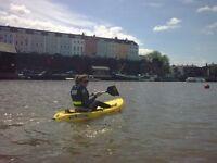 2x Sea Kayaks (inc paddles and life jackets)