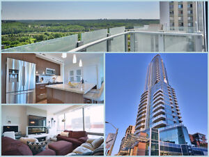 CondoYEG.ca | TOP OF THE LINE 1 BED GORGEOU RIVER VALLEY VIEWS !