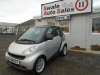 2010 J SMART FORTWO 0.8 PASSION CDI 2D AUTO 54 BHP DIESEL