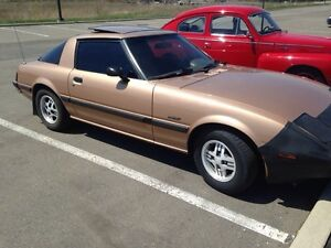 1983 Mazda RX7 Possible trade for 4 wheeler,side by side Peterborough Peterborough Area image 2