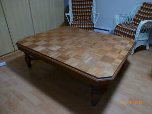 Buy or sell coffee tables in gatineau furniture kijiji - Grande table bois ...