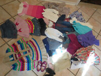 Huge lot of girl's spring clothes 18-24 months
