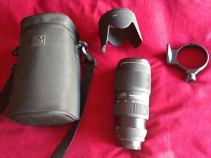 Sigma 70-200 mm lens for Nikon