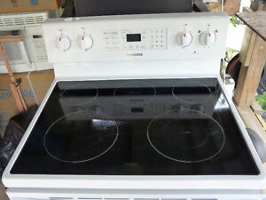 White, Electric Stove, 2-years old
