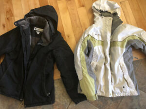 Ladies Columbia Winter coats