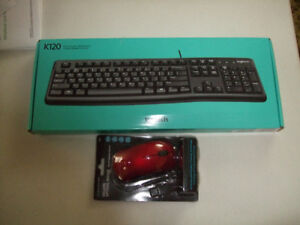 NEW LOGITECH KEYBOARD WITH MOUSE