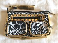 New Betsey Johnson clutch/makeup bag