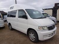 MAZDA BONGO HIGH TOP CAMPERVAN WITH FULL SIDE CONVERSION AND ROCK & ROLL BED