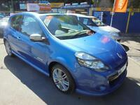 2009 09 RENAULT CLIO 2.0 16V GT IN BLUE # RARE CAR IN 2.0 SPEC #