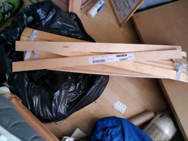 Free free free ikea slats for a single bed
