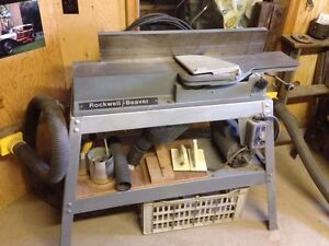 "Rockwell Beaver 6"" wide jointer"