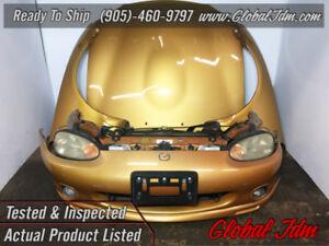 JDM Mazda Miata Front End Conversion NB8C Headlights Bumper Hood